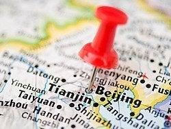 Cómo llegar a Pekín, mapa de situación