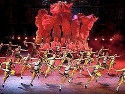 Espectáculo de Kung Fu en el Teatro Rojo