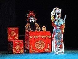 Personajes típicos de la Ópera de Pekín