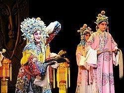 Disfrutando dela Ópera de Pekín