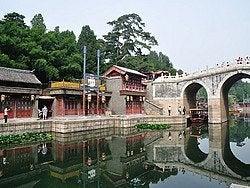 Palacio de Verano, Calle Suzhou