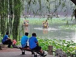 Parque Beihai, lago