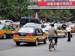Taxis en Pekín