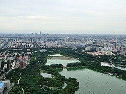 Torre de la Televisión de Pekín, vistas