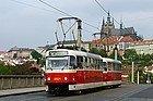 Transporte Praga, tranvía