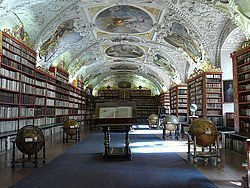 Mosteiro Strahov, Biblioteca
