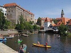 Český Krumlov en verano