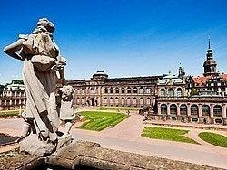 Zwinger, uno de los edificios famosos de Dresde
