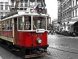 Nostalgic Tram no 91