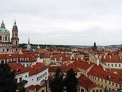 Jardines Vrtba, Vistas de Praga