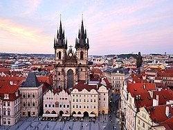 Vistas de Praga desde la Torre del Reloj