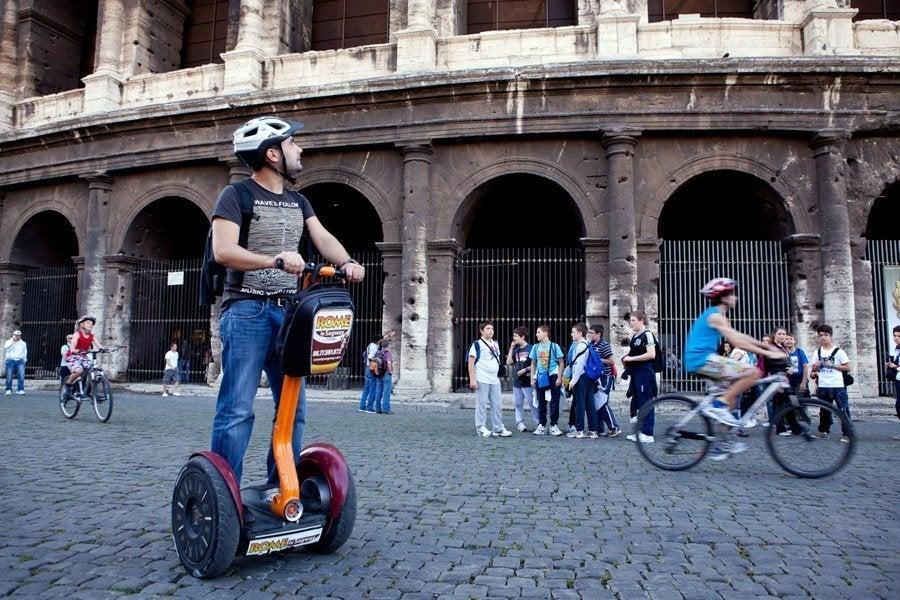 Recorriendo Roma en Segway
