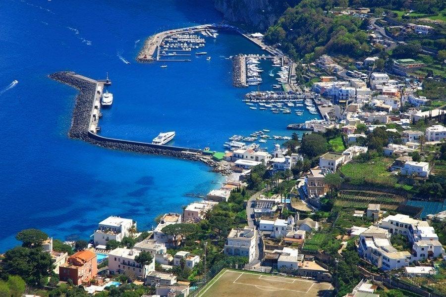 Marina Grande, el puerto de Capri