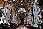 Basílica de San Pedro, interior