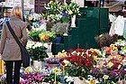 Campo dei Fiori, puesto de Flores