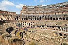 Coliseo, interior