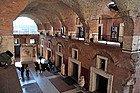 Marchés de Trajan, intérieur