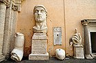 Capitoline Museums, colossal statues