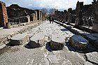 Pompeii, zebra crossing