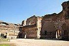 Termas de Caracalla, interior