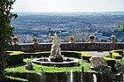 Vue sur Tivoli du haut de Villa d'Este