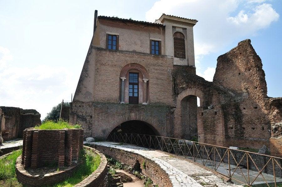 Domus Flavia en el Palatino