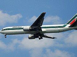 Avion de Alitalia