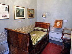 Casa Keats-Shelley, habitacion