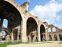 Forum romain, Basilique de Maxence et Constantin