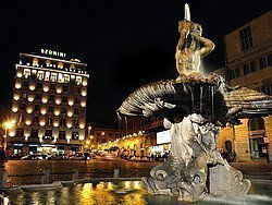 Fuente del Tritón, Plaza Barberini