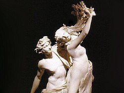 Borghese Gallery, Apollo and Daphne, Bernini