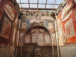 Herculano, frescos