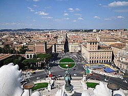 Views from the Altare della Patria