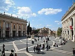 Museos Capitolinos en la Plaza del Campidoglio