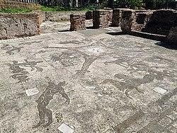 Ostia Antica, mosaicos