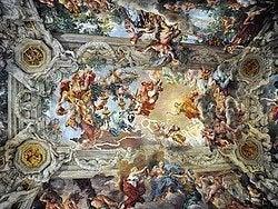 Palacio Barberini, techo gran salon