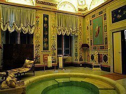 Palacio Doria Pamphilj, baño