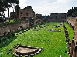 Palatine, Domitian race course