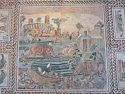 Palazzo Massimo, Mosaico