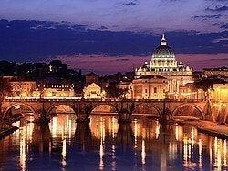 Puente de San Ángelo y Vaticano