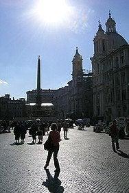 Tiempo Roma en invierno