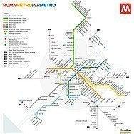 Mapa transporte Roma