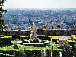 Vistas de Tívoli desde Villa del Este