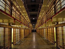 Alcatraz, celdas