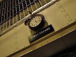 Alcatraz, Times Square
