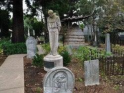 Mision Dolores, cementerio