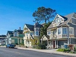 Algunas de las casitas de Monterey