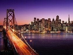 San Francisco al anochecer