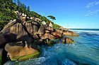 Playa Grand Anse, La Digue