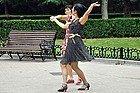 Bailando en Fuxing Park